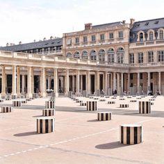 The Buren Columns, Paris Paris Destination, Destination Wedding, Monuments, Deco Paris, French Alps, World Cities, Paris Photos, Art Installation, French Riviera