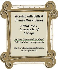 ***$8.00*** Worship with Bells & Chimes Music Series - HYMNS NO. 1 - C