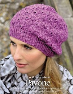 This gorgeous slouchy Hat was originally published in The Knitter, issue 32, and is now available as an individual pattern.