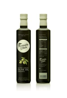 Olive oil packaging design on Behance