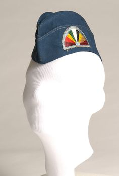 Army Special Services librarian garrison cap, 1945 - The Betty H. Carter Women Veterans Historical Project - UNCG University Archives