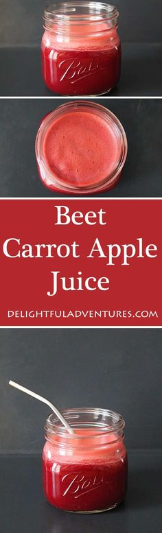 Have you hit an afternoon slump? You'll be energized to keep going after making yourself a glass of this refreshing beet carrot apple juice.