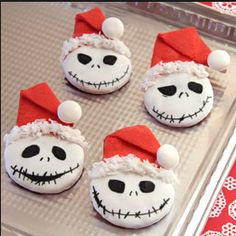 NIGHTMARE BEFORE CHRISTMAS BISCUITS