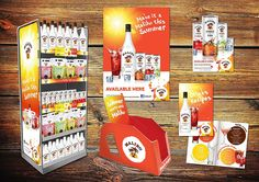 Malibu packaging design by http://creativepool.co.uk/phdesign#