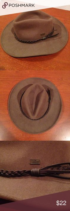 Bailey Cowboy Hat - Early Black Friday! 100% Wool Felt; Lite Felt; Water Resistant  Made in USA  For youth or small adult head  Good condition  Will ship within one day of order Accessories Hats