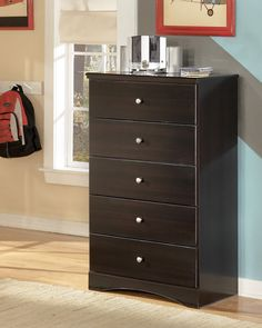Ashley Embrace B239-46 Signature Design Five Drawer Chest -