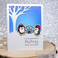 Lawnscaping Winter Penguins | Jessica Frost-Ballas | Flickr