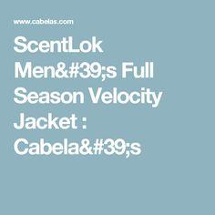 ScentLok Men's Full Season Velocity Jacket : Cabela's (Size: XL) (Color: Realtree Xtra)