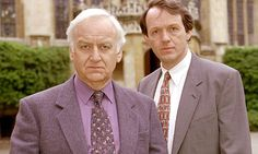 John Thaw and Kevin Whately in Inspector Morse