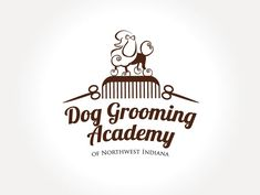 Dog Grooming Academy of Northwest Indiana needs a new logo Logo design by Ranita Dog Grooming Salons, Grooming Shop, Dog Grooming Tips, Dog Grooming Supplies, Dog Grooming Business, Dog Logo Design, Logo Design Contest, Pet Shop, Dog Spa