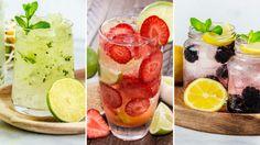 Enkla välkomstdrinkar till midsommar Juice Drinks, Summer Solstice, Tamales, Sangria, Barista, Grapefruit, Cantaloupe, Great Recipes, Vodka