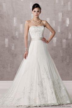 kathy ireland for mon cheri wedding dress fall 2012 -  style 231238
