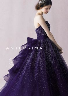 anteprima Grandes Robes, Quinceanera Dresses, Homecoming Dresses, Schick, Pretty Dresses, Purple Dress, Purple Ballgown, Colored Wedding Dresses, Bridal Dresses
