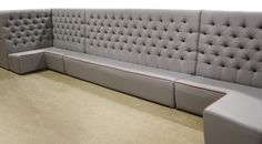 Some wonderful bespoke fixed seating, built here on site by our expert craftsmen.