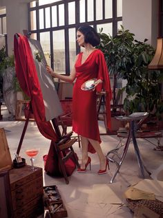 Eva Green   Campari calendar 2015