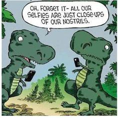 cute T-Rex humor for @Johnnie Monico Monico Lyman