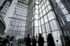 Exklusive Einblicke in die Europäische Zentralbank (EZB) in Frankfurt am Main. Fotos: Salome Roessler