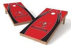 Tampa Bay Buccaneers Single Cornhole Board - The Edge