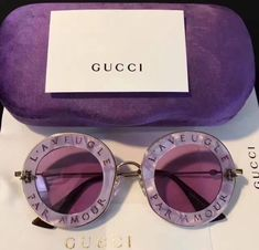 Sunglasses For Your Face Shape, Round Sunglasses, Gucci Sunglasses, Cat Eye Sunglasses, Sunglasses Accessories, Jewelry Accessories, Fashion Accessories, Sacs Louis Vuiton, Lunette Style