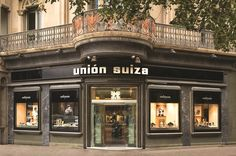 Jewellers and watchmakers in Barcelona Unión Suiza since 1854, is today a leader in all areas of high jewellery and watchmaking. Av.Diagonal, 482/ Rbla. Catalunya,17.