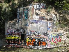 """Urban decay on the sapphire falls trail. Revelation And to bring to ruin those ruining the earth"""". Please enjoy the earth without destroying it! Revelation 11, Places To Travel, Places To Visit, Rancho Cucamonga, Beautiful Waterfalls, Natural Disasters, Wine Bottles, Ruin, Cornwall"""
