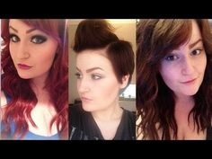 How I Cut, Shaped & Dyed My Extensions For My Pixie Cut