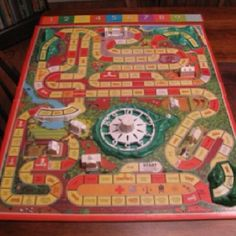 1960S Board Games... IN SEARCH OF THIS VINTAGE GAME, BUT GARAGE SALES ARE HERE SO MaYbE I WILL FIND ONE, SMILES... YOU HAVE 1 YA MAY WANNA SALE FOR A GOOD PRICE? JUST LET ME KNOW PLEASE?
