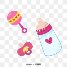 Toys For Girls, Kids Toys, Little Girl Illustrations, Black And White Cartoon, Girl Background, Girl Clipart, Bottle Feeding, Baby Cartoon, Free Logo