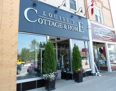Louise's Cottage & Home a home decor store in Goderich