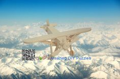 3d puzzle,3d wood jigsaw puzzle,3d diy toy,Best parent-child games,kids toy,fancy toy, intelligence toys, Educational Toys,blocks toys,DIY aviation aircraft toys,wooden toys, assembling toys,  Wooden Louis plane