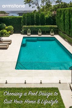 Choosing A Pool Design To Suit Your Home & Lifestyle Having a swimming pool is the Australian homeowner's dream, particularly for those without a beac
