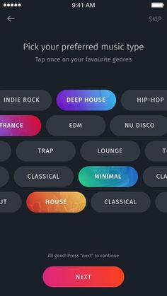 Music Discovery App by Mihai Serban - Dribbble