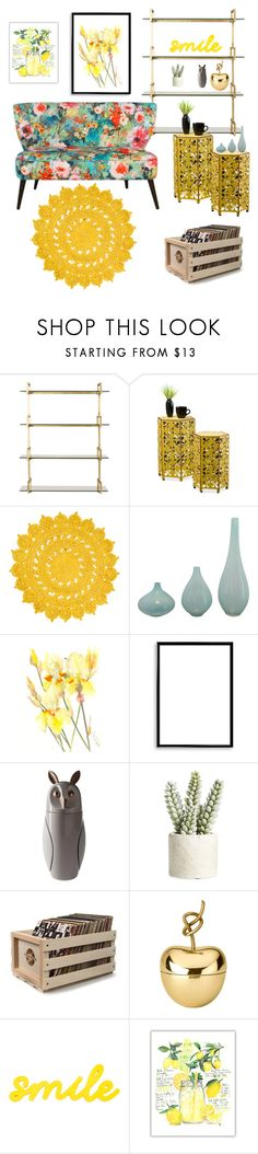 """Love colors"" by piedraandjesus on Polyvore featuring interior, interiors, interior design, hogar, home decor, interior decorating, Surya, Bomedo, Bosa y Allstate Floral"