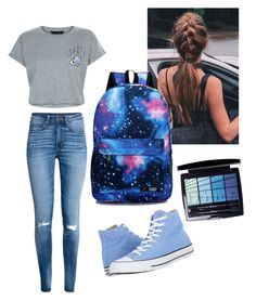 """Space"" by katiesnowleopard on Polyvore featuring New Look, Christian Dior and Converse"
