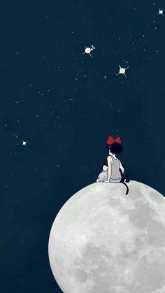 Wall Paper Phone Anime Studio Ghibli Ideas For 2020 Animes Wallpapers, Movie Wallpapers, Cute Wallpapers, Wallpaper Backgrounds, Iphone Wallpaper, Totoro, Studio Ghibli Art, Studio Ghibli Movies, Hayao Miyazaki