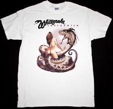 Whitesnake lovehunter'79 Hard Rock Band coverdale Deep Purple Новая белая футболка