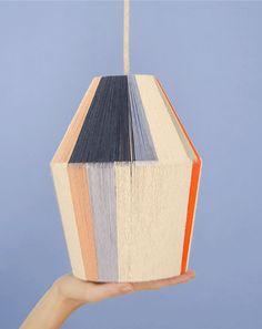 DIY Woven lamp · DIY Woven lamp · Imagination Factory · Tutorial in Spanish Lamp Design, Diy Design, Handmade Home Decor, Diy Home Decor, Diy Luz, 98, Lamp Shades, Diy Furniture, Furniture Assembly