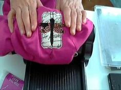 Yahoo! Video Detail for cutting fabric with the Sizzix Big Shot