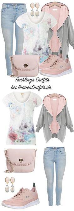 FrühlingsOutfits bei FrauenOutfits.de #Frauen #Mode #lässiger Look #sportlicher Look #moder2017 #Modetrends2017 #fashion #outfitinspiration #style