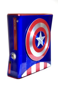 Captain America XBox 360 Mod by Zim Props - This makes me want to own another xbox