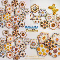 Вкусно с Бети: Мандала бисквитки - Mandala Cookies