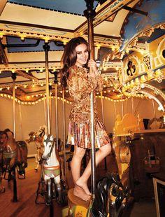 Kitschy Carnival Editorials : Harpers Bazaar April 2012