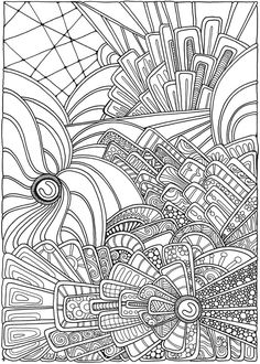 Creative Haven Entangled Coloring Book - Dover Publications