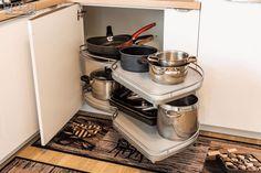 #cornerunit #kitchenorganization  #kitchenstorage  #kitchendesign #kitchenideas #KUXA #KUXAstudio #KUXAkitchen #mobiladebucatarie #bucatarii Corner Unit, Espresso Machine, Stove, Coffee Maker, Kitchen Appliances, Studio, Design, Gifs, Espresso Maker