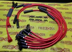 Cavi candela Ferrari 308 GT4 al prezzo di 489,00 € Euro.  Cavi candela ProtoXide con spessore 8,8 mm di puro silicone, ad alta conducibilità esattamente come in foto per ferrari 308 GT4