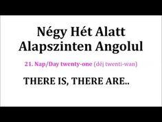 Könnyen, Gyorsan Angolul 1-106. nap - YouTube English Language, Study, Education, Learning, Youtube, Studio, English People, Studying, English