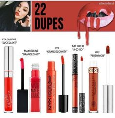 Another kylie Jenner Lipkit Dupe for 22