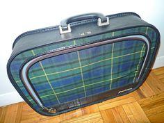 ready set - plaid suitcase