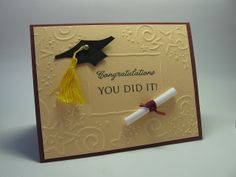 Could do this with all the small embossed cards