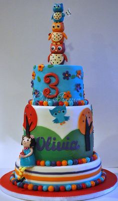 Owl - Olivia Cake - too cute